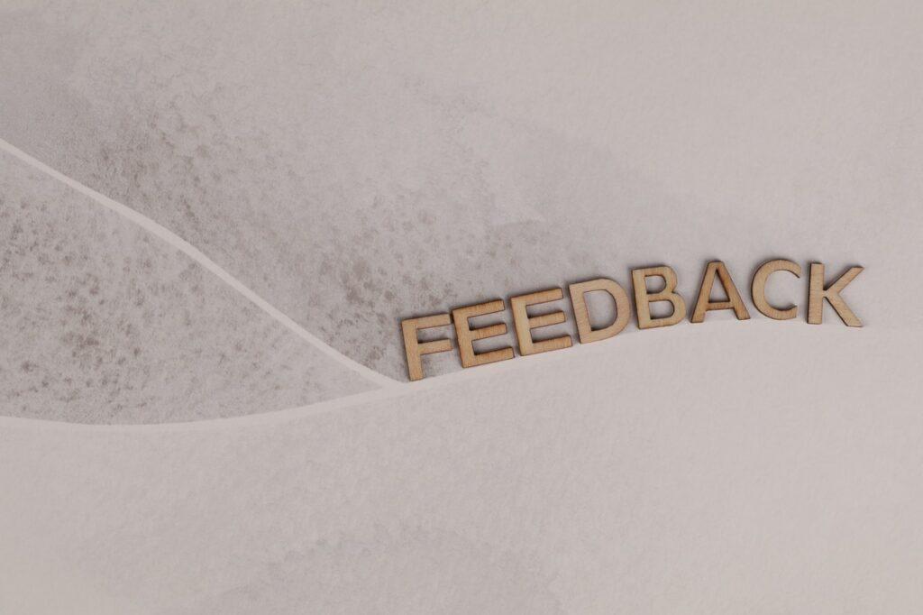 Feedback ijego znaczenie wcodziennej pracy